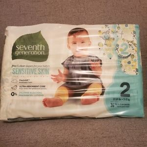 7th generation size 2 diapers 36 count bundle item